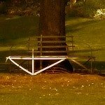 Thumbnail: bench in a park