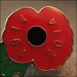 Thumbnail: remembrance day badge