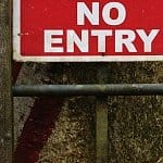 Thumbnail Photo: no entry